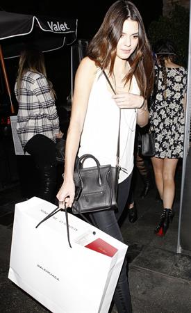 Kendall Jenner – birthday party departures 11/3/13