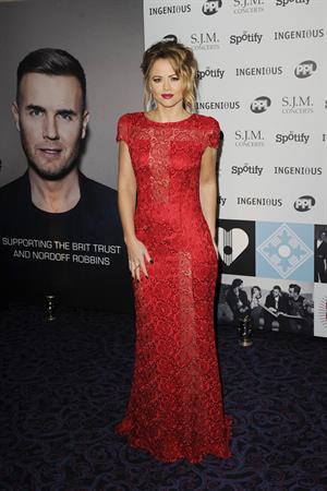 Kimberley Walsh Music Industry Awards, London - November 5, 2012