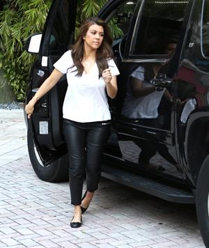 Kourtney Kardashian out and about in Miami, on Saturday, November 24, 2012