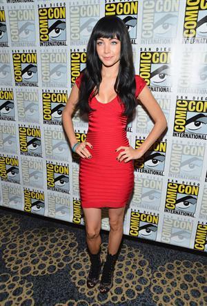 Ksenia Solo  Lost Girl  - Press Line - Comic-Con International 2012, July 15, 2012