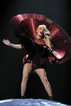 Lady Gaga - 2011 MTV European Music Awards 11/6/11