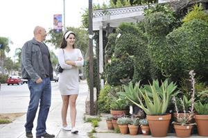 Lana Del Rey in short skirt in West Hollywood 10/11/12