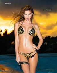 Ann Kathrin Brommel in a bikini