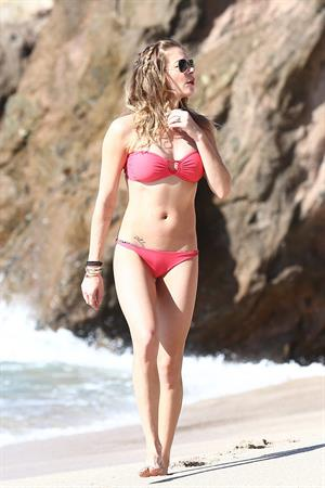 LeAnn Rimes on the beach in Cabo (bikini) 1/2/13