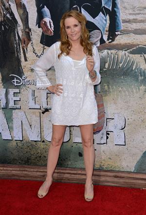 Lea Thompson - The Lone Ranger World Premiere on June 22, 2013