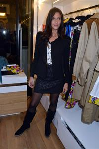 Linda Hardy Rowena Forrest Shop Launch Cocktail at the Lady R Forrest Shop in Paris (Nov 16, 2012)