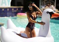 Racquel Natasha in a bikini