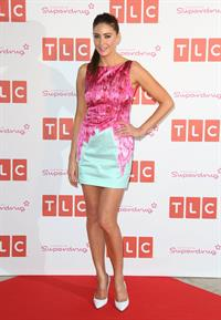 Lisa Snowdon TLC channel launch party held at Sketch in London on April 25, 2013