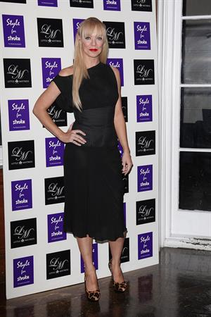 Liz McClarnon attneds Launch party of Style for Stroke - October 2, 2012