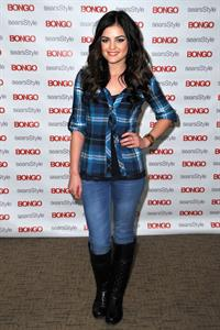 Lucy Hale Bongo Karaoke Party in Costa Mesa CA 11/10/12