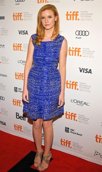 Madisen Beaty The Master premiere at Toronto FF 9/7/12