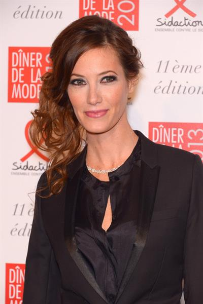 Mareva Galanter Sidaction Gala Dinner 2013 (Jan 24, 2013)