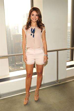 Maria Menounos visits Sirius XM radio studio in New York City on June 29, 2013