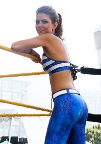 Maria Menounos WWE SummerSlam 2013 in LA 8/18/13