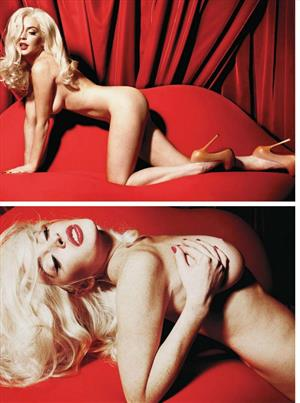 Lindsay Lohan Nude for Playboy February 2012