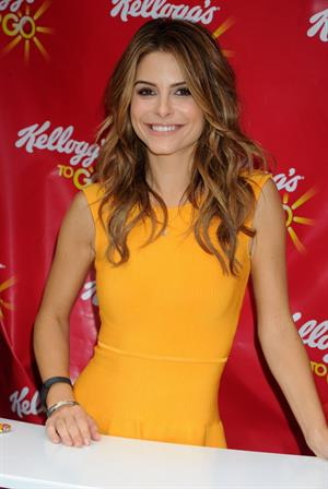Maria Menounos 20Partnering with Kellog's To Go 'Skipperventions to encourage New Yorkers to stop skipping Breakfast