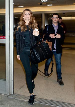 Maria Menounos – LAX airport arrival in LA 10/15/13