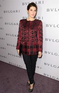Marisa Tomei BVLGARI Elizabeth Taylor Collection Party February19, 2013