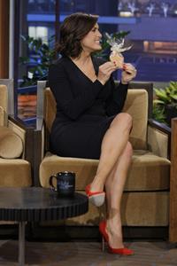 Mariska Hargitay  The Tonight Show With Jay Leno  - Season 22 - Nov. 8, 2013