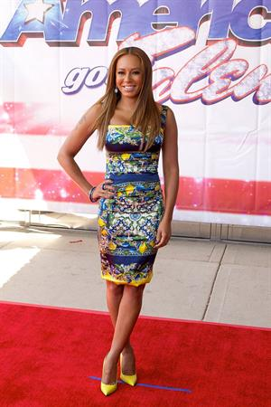 Melanie Brown Attends American's Got Talent Season 8 Akoo Theatre Rosement Illinois 08.05.13