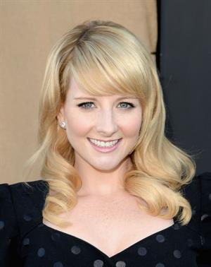 Melissa Rauch CW, CBS & Showtime 2013 Summer TCA Party in LA 7/29/13