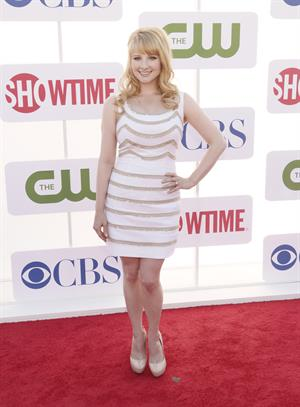 Melissa Rauch arrives at the 2012 TCA Summer Tour - CBS, Showtime And The CW Party at 9900 Wilshire Blvd on July 29, 2012 in Beverly Hills, California