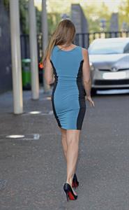 Michelle Heaton Outside The London Studios - October 9, 2012