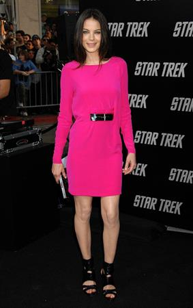 Michelle Monaghan at the Star Trek premiere in Los Angeles