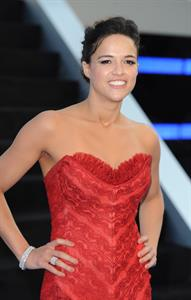 Michelle Rodriguez at the Fast and Furious 6 premiere, London - May 7, 2013
