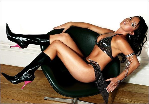 Lisa Scott Lee in a bikini