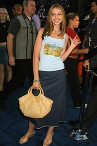Michelle Trachtenberg -  Blue Crush  Premiere 8/8/02