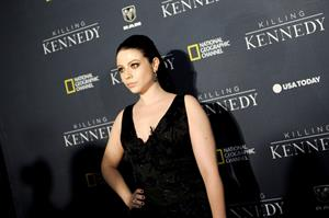 "Michelle Trachtenberg ""Killing Kennedy"" Premiere in Washington D.C, October 28, 2013"