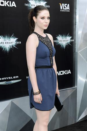 Michelle Trachtenberg - The Dark Knight Rises premiere in New York - July 16, 2012