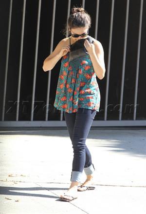 Mila Kunis in Studio City - September 30, 2012
