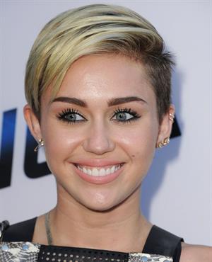 Miley Cyrus  Paranoia  Los Angeles Premiere -- Aug. 8, 2013