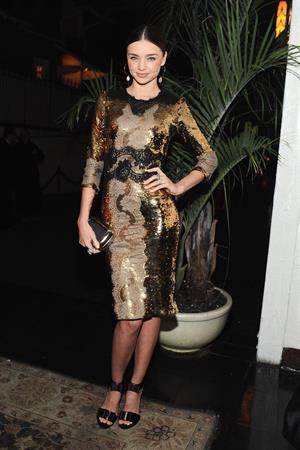 Miranda Kerr W Magazine and Dom Perignon's Pre-Golden Globes Party in Los Angeles - January 12, 2013
