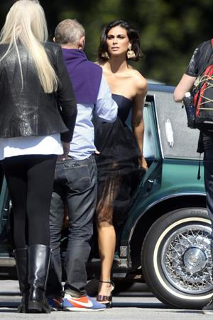 Morena Baccarin Poses for a photoshoot in LA February 17-2013