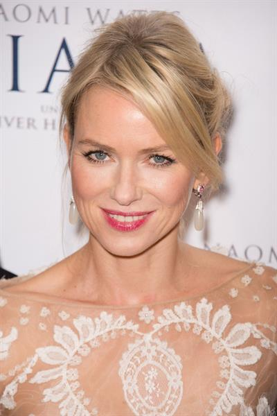 Naomi Watts  Diana  Paris Premiere on September 6, 2013