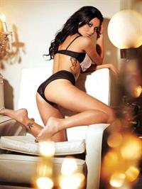 Jessica-Jane Clement in lingerie - ass