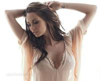 Jessica-Jane Clement in lingerie - breasts