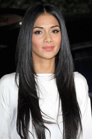 Nicole Scherzinger Attends the Flagship Store Opening Party in Los Angeles on February 13, 2013
