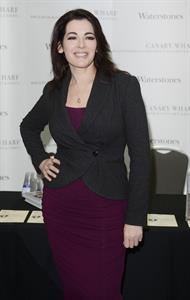 Nigella Lawson Book Signing in Canary Wharf - October 24, 2012