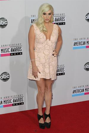 Kesha at the American Music Awards (November 18, 2012)