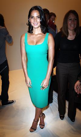 Olivia Munn Michael Kors - Spring 2013 Mercedes-Benz Fashion Week, September 12, 2012
