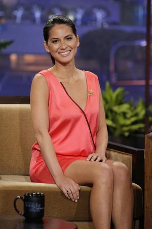 Olivia Munn on The Tonight Show, July 10, 2013