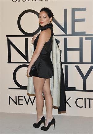 Olivia Munn Armani - One Night Only New York on Oct. 24, 2013