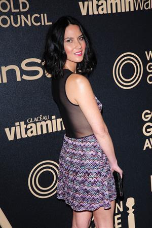 Olivia Munn HFPA And InStyle Celebrate The 2013 Golden Globe Awards Season, November 30, 2012