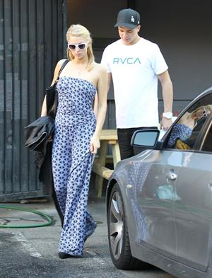 Paris Hilton out And About in Beverly Hills 01.03.13