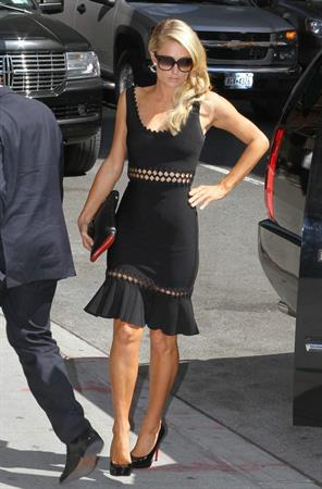 Paris Hilton at the 'Late Show with David Letterman May 2, 2013