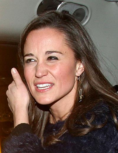 Pippa Middleton leaving a Christmas concert at St. James Church in London 11/29/12